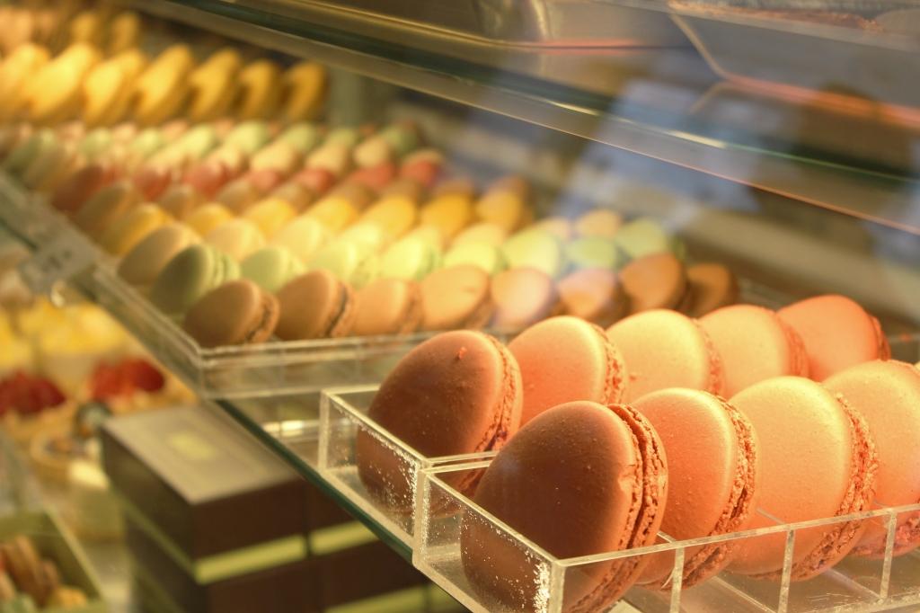 Macaroons at Bouchon Bakery