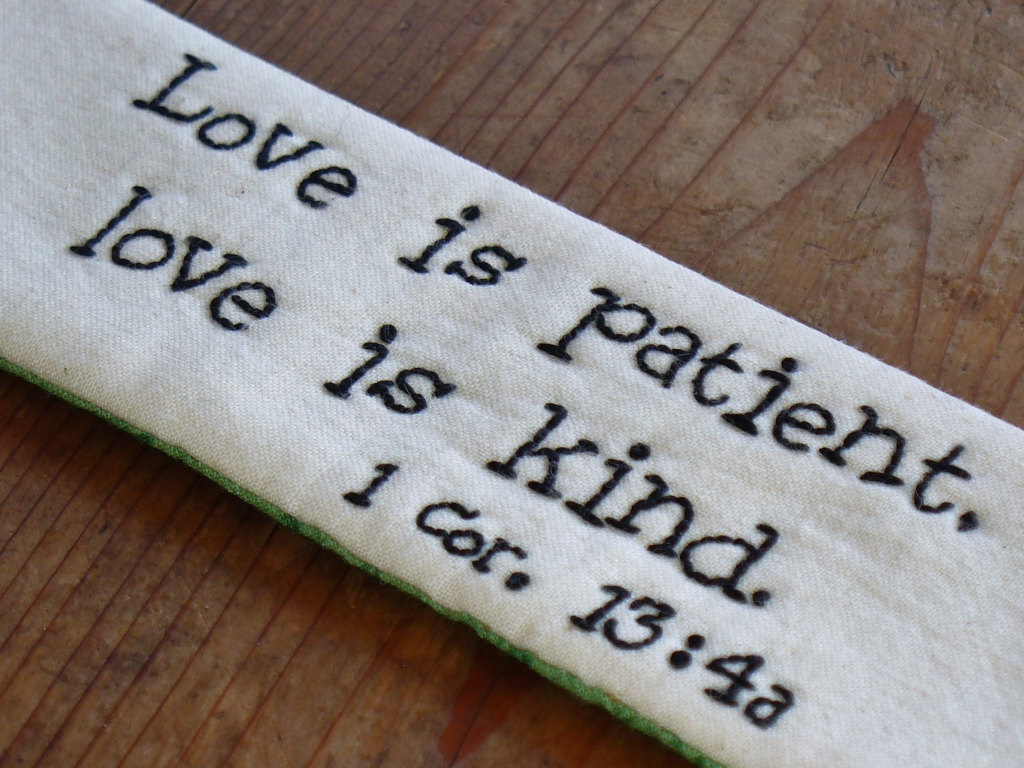 "Love Is Patient Love Is Kind Quote In Spite Of"" Type Of Love  From Queen To Queens"