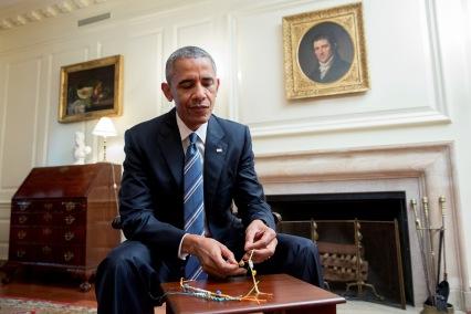 https://www.whitehouse.gov/sites/whitehouse.gov/files/images/friendshipbracelet.jpg Obama makin a friendship bracelet 8/5/16 White House